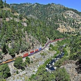 Randy Dyer - Westbound Through Feather River Canyon