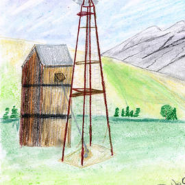 John Hoppy Hopkins - Western Windmill