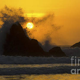 Bob Christopher - Whales Head Beach Oregon Sunset 3