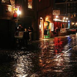 Maria Varnalis - Whart Street In The Night Rain