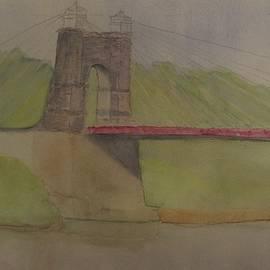 David Bartsch - Wheeling Suspension Bridge