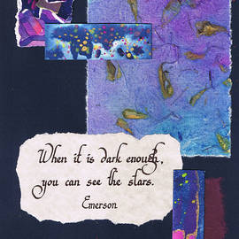 Tamara Kulish - When it is dark enough you can see the stars - navy