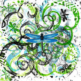 Genevieve Esson - Whimsical Dragonflies