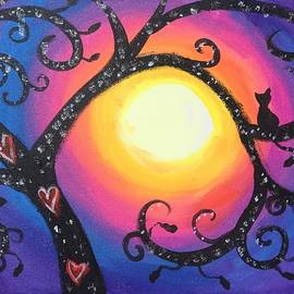 Diana Riukas - Whimsical Tree at Sunset