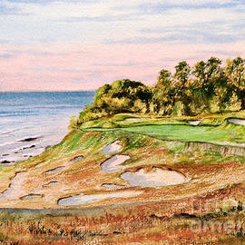Bill Holkham - Whistling Straits Golf Course 17Th Hole