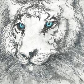 Denise Fulmer - White Bengal Tiger
