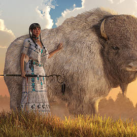 Daniel Eskridge - White Buffalo Calf Woman