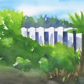 Frank Bright - White Fence