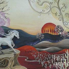 Lara Larson - White Horse of the Desert