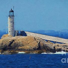 Mim White - White Island Lighthouse