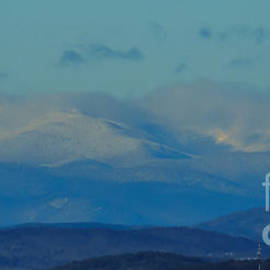 Mim White - White Mountains from Cotton Hill N H