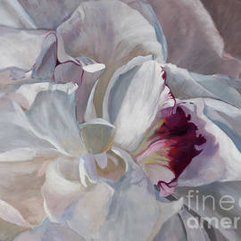 Marilyn Nolan-Johnson - White Peony by Marilyn Nolan- Johnson