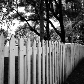 White Picket Fence- by Linda Woods - Linda Woods