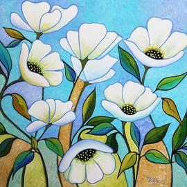 Peggy Davis - White Poppys