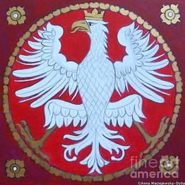Anna Folkartanna Maciejewska-Dyba  - White Regal Eagle from Cathedral in Cracow