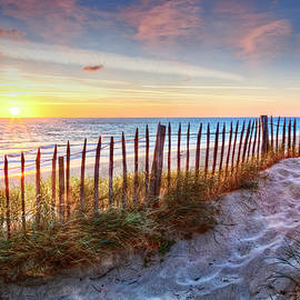 Debra and Dave Vanderlaan - White Sands at Sunset