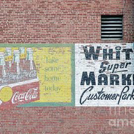 Catherine Sherman - White Super Market Sign