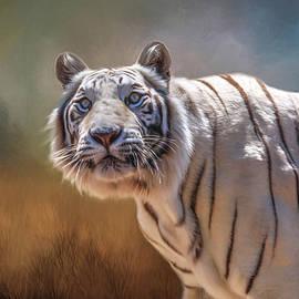 Donna Kennedy - White Tiger Portrait