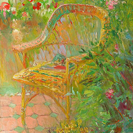 Wicker Chair - William Ireland