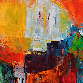 Becky Kim - Wide Abstract F