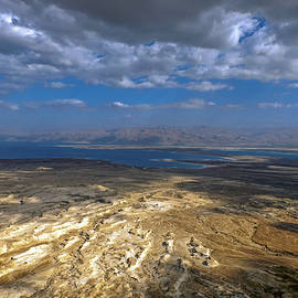 Dubi Roman - Wide view from Masada