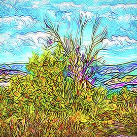 Joel Bruce Wallach - Wild Autumn Hillside - Boulder County Colorado