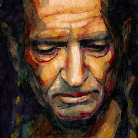 Laur Iduc - Willie Nelson portrait 2