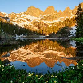 Aaron Spong - Willow Lake Sunrise