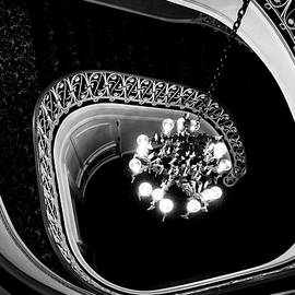 Colleen Kammerer - Winding Staircase in Black and White