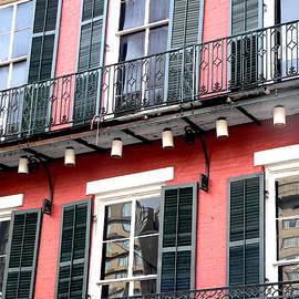 Kathy K McClellan - Window Balcony