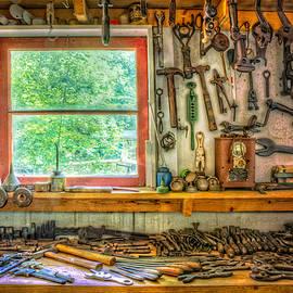 Debra and Dave Vanderlaan - Window over the Workbench
