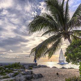 Rachel Cash - Window to a Key West Sunset