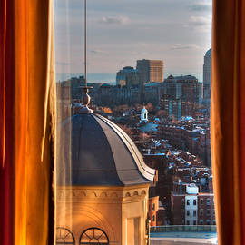 Joann Vitali - Window to the City - Liberty Hotel - Boston Cityscape