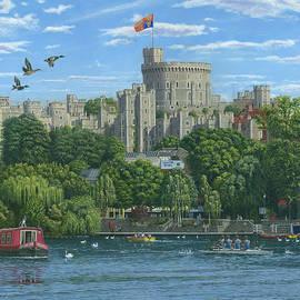 Windsor Castle from the River Thames - Richard Harpum