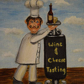Donna Cook - Wine And Cheese Tasting