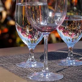 Wine Glass art