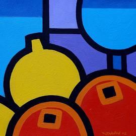 Wine Lemons Oranges - John  Nolan