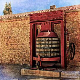 Greg Kluempers - Wine Press Near Narbonne France DSC01630