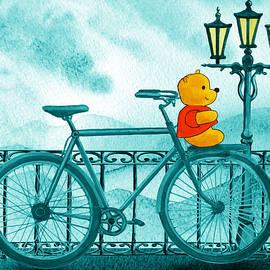 Irina Sztukowski - Winny The Pooh On The Bicycle