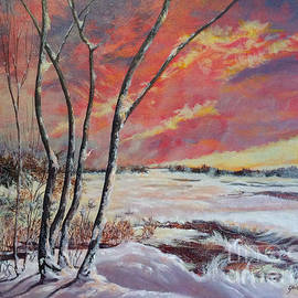Gail Allen - Winter Across the Lake