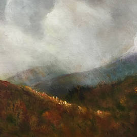 Aline Lotter - Winter Arrives in the White Mountains