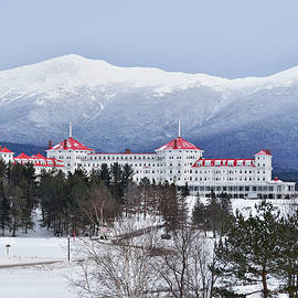 Tricia Marchlik - Winter at the Mt Washington Hotel