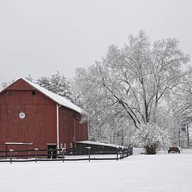 Ann Bridges - Winter Barn