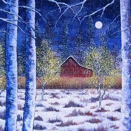 Brian Mickey - Winter Barn