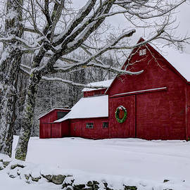 Christopher Whiton - Winter Barn