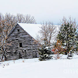 Vickie Emms - Winter Barn
