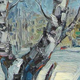 Sergey Avdeev - Winter birch. ACEO