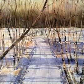 Diane Splinter - Winter Birch Path