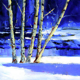 Nancy Merkle - Winter by the River