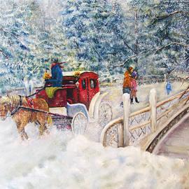 Loretta Luglio - Winter Carriage in Central Park